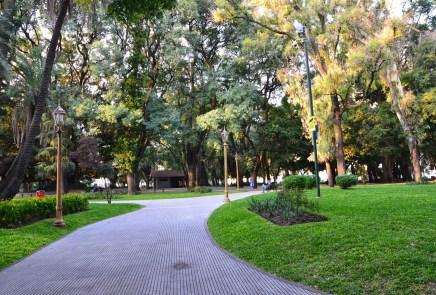 Plaza San Martín in Retiro, Buenos Aires, Argentina
