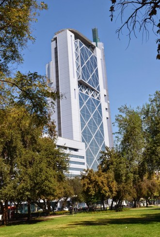 Torre Telefónica Chile in Santiago de Chile