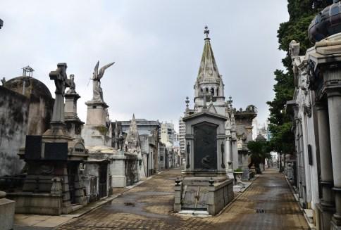 Cementerio de la Recoleta in Buenos Aires, Argentina