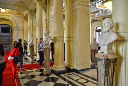 Salón de los Bustos at Casa Rosada on Plaza de Mayo in Buenos Aires, Argentina