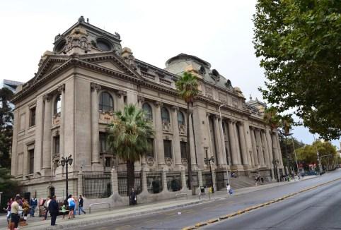 Biblioteca Nacional in Santiago de Chile