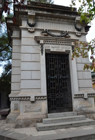 Tomb of Luis Barros Borgoño at Cementerio General in Santiago de Chile