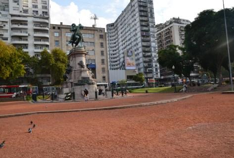 Plaza Italia in Palermo, Buenos Aires, Argentina