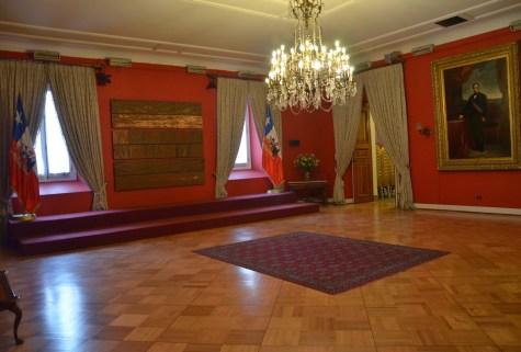 Salón Montt-Varas at Palacio de La Moneda in Santiago de Chile