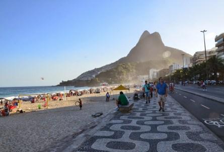 Leblon in Rio de Janeiro, Brazil