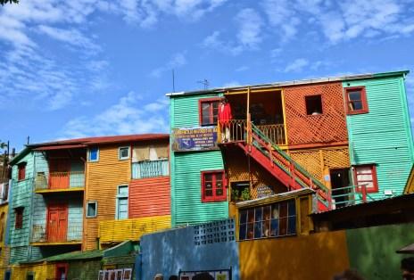 El Caminito in La Boca, Buenos Aires, Argentina