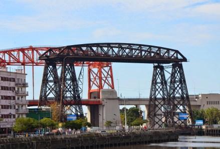 Puente Transbordador Nicolás Avellaneda in La Boca, Buenos Aires, Argentina