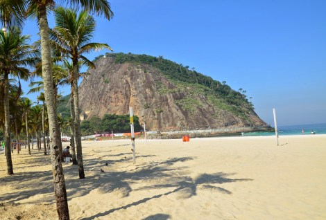 Morro do Leme in Rio de Janeiro, Brazil