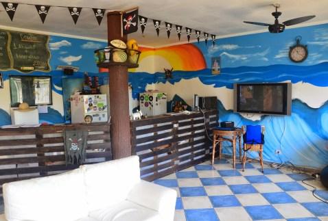 Green Haven Hostel in Ubatuba, Brazil