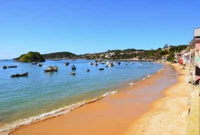 Praia do Canto in Búzios, Brazil