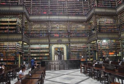 Real Gabinete Português de Leitura in Rio de Janeiro, Brazil