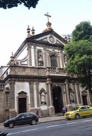 Igreja Santa Cruz dos Militares in Rio de Janeiro, Brazil
