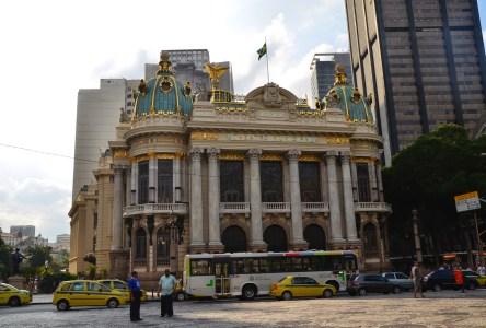 Theatro Municipal in Rio de Janeiro, Brazil