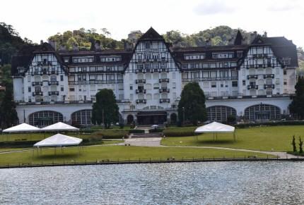 Palácio Quitandinha in Petrópolis, Brazil
