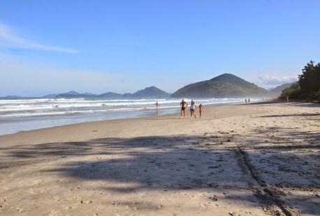 Praia da Itamambuca in Ubatuba, Brazil