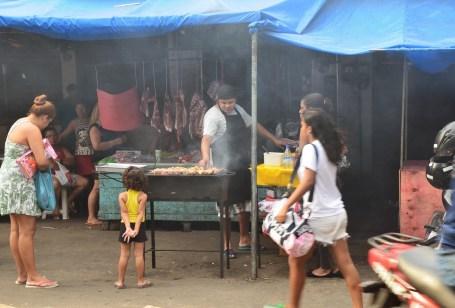 Street food at Rocinha favela, Rio de Janeiro, Brazil