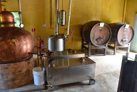 Paratiana cachaça distillery in Parque Nacional da Serra da Bocaina, Brazil