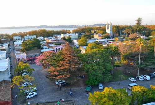 View from the lighthouse in Colonia del Sacramento, Uruguay