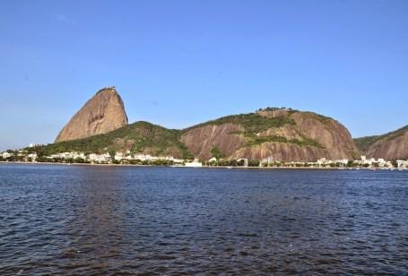 View of Pão de Açúcar from Botafogo in Rio de Janeiro, Brazil