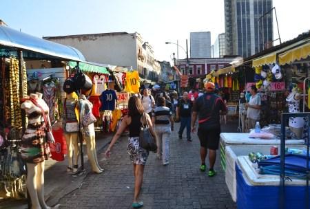 Mercado Popular in Rio de Janeiro, Brazil