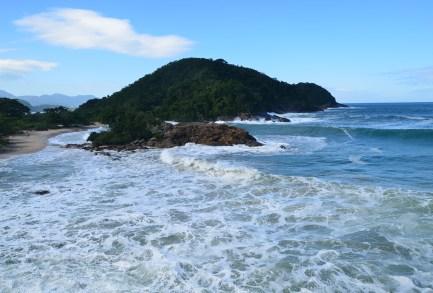 View of Praia do Meio, Trindade, Brazil