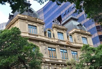 Centro Cultural de Justiça Federal in Rio de Janeiro, Brazil