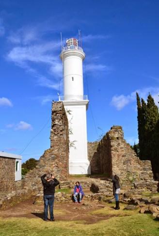 Lighthouse in Colonia del Sacramento, Uruguay