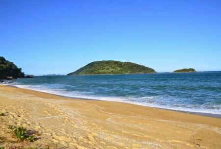 Praia do Prumirim in Ubatuba, Brazil