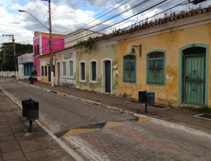Side street in São Sebastião, Brazil