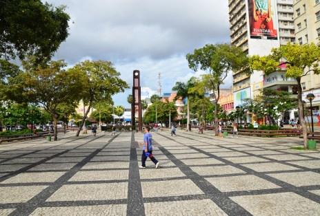 Praça do Ferreira in Fortaleza, Brazil