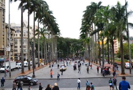 Praça da Sé in São Paulo, Brazil