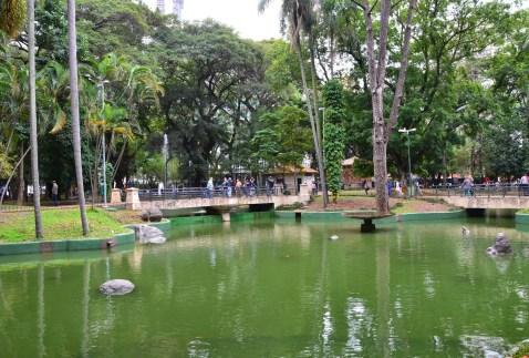 Praça da República in São Paulo, Brazil