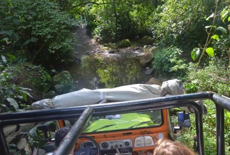 Jeep tour on Ilhabela, Brazil