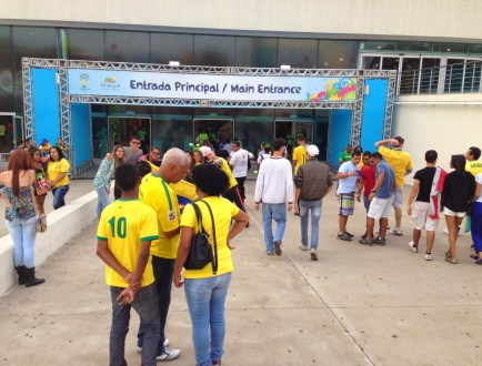 FIFA Fan Fest in Belo Horizonte, Brazil 2014 World Cup