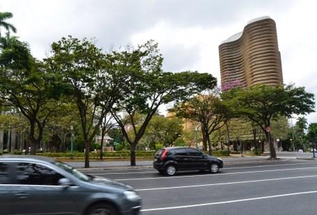 Edifício Niemeyer in Belo Horizonte, Brazil
