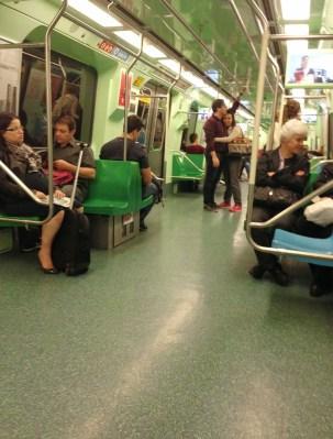 Metrô in São Paulo, Brazil