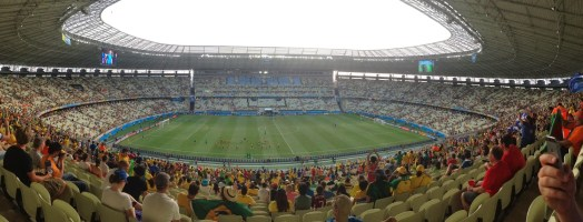 Arena Castelão in Fortaleza, Brazil World Cup 2014