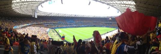 2014 World Cup at Estádio Mineirão in Belo Horizonte, Brazil
