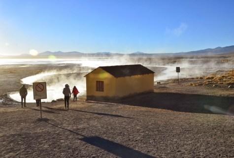 Aguas Termales at Reserva Nacional de Fauna Andina Eduardo Abaroa, Bolivia
