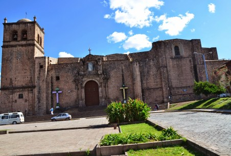 Iglesia de San Francisco in Cusco, Peru