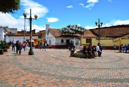 Chorro de Quevedo in La Candelaria, Bogotá, Colombia