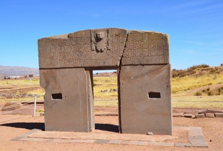 Gate of the Sun at Tiwanaku, Bolivia