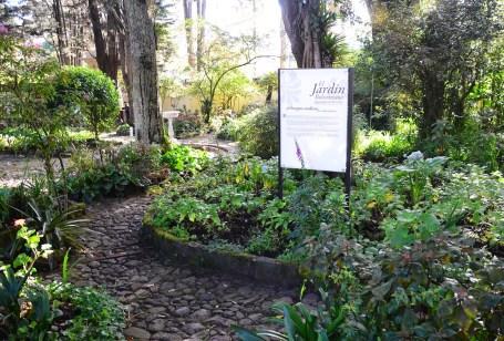Jardín Bolivariano at Quinta de Bolívar in Bogotá, Colombia