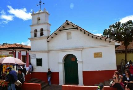 Ermita de San Miguel de Princípe in La Candelaria, Bogotá, Colombia