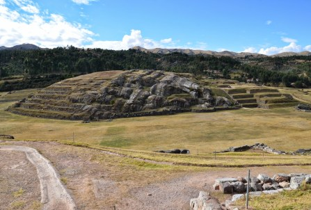 View from the top of Saqsayhuamán, Cusco, Peru