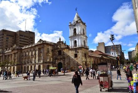 Iglesia de San Francisco in Bogotá, Colombia