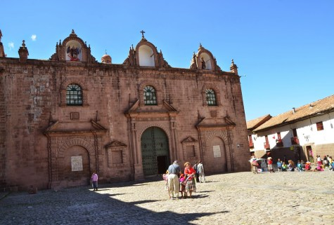 Iglesia El Triunfo on Plaza de Armas in Cusco, Peru