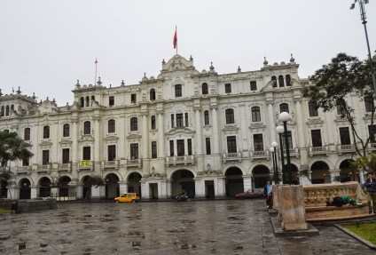 Plaza San Martín in Lima, Peru