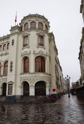 Cine Teatro Colón at Plaza San Martín in Lima, Peru