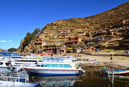 Isla del Sol, Lake Titicaca, Bolivia